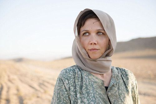 Maggie Gyllenhaal - The Honourable Woman (scarf, headscarf)