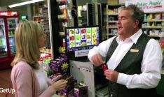 "Supermarket pokies ad GetUp!    GetUp! anti-supermarket pokies ad refused airtime by TV networks  Australia's major TV networks have refused to run a crowd-funded ad by activist group GetUp! that attacks supermarket big boys Woolworths and Coles for, the ad claims, owning ""more dangerous poker machines than the five largest Las Vegas casinos""."