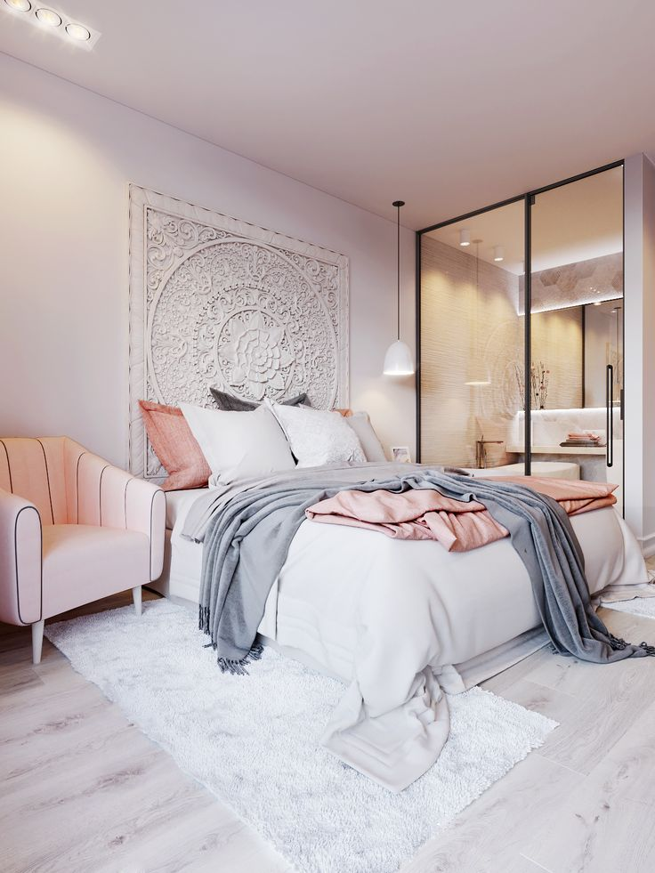 Grey And White Bedrooms Magnificent Best 25 Pink Grey Bedrooms Ideas On Pinterest  Pink And Grey . Review