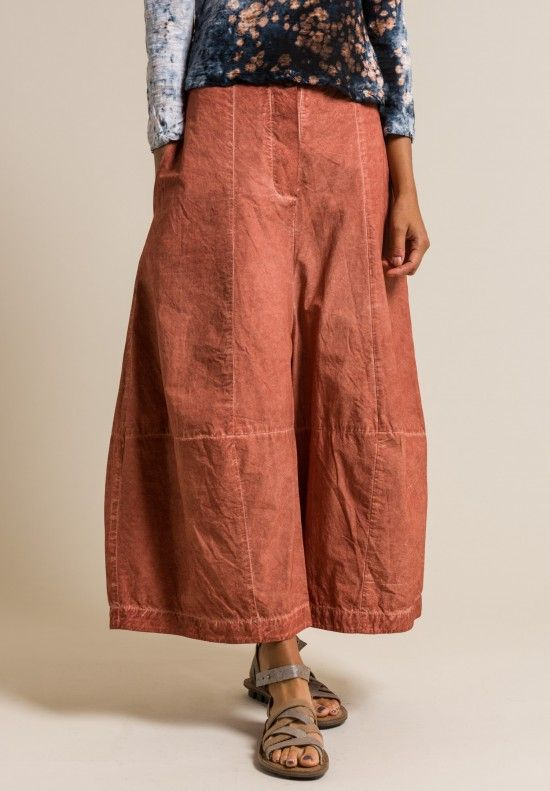 Gilda Midani Cotton Egg Pants in Cognac | Santa Fe Dry Goods Trippen, Rundholz, Avant Toi, Greg Lauren