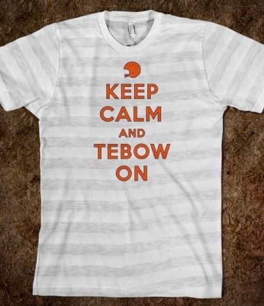Tim Tebow shirt :)