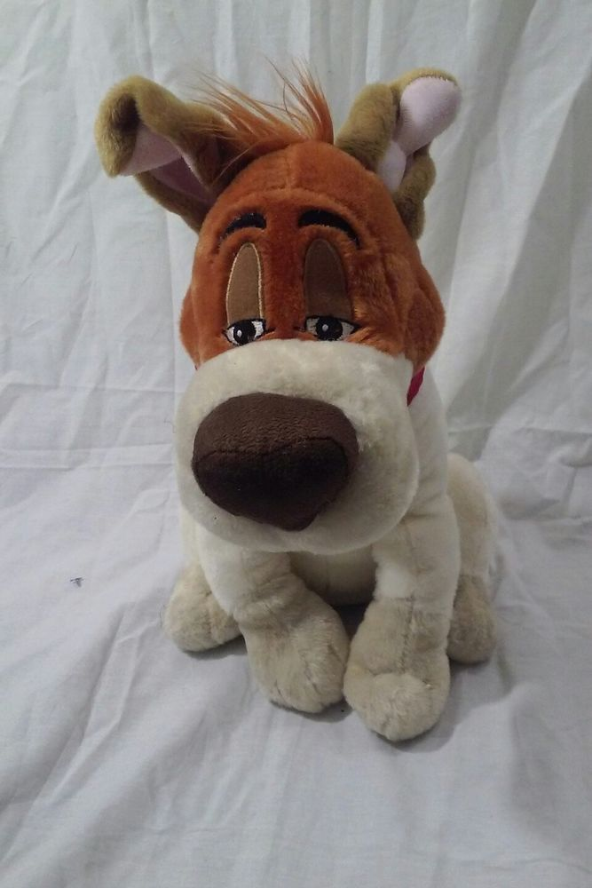 """11"""" Disney Store Oliver And Company Dodger Plush Dog Puppy  #Disney #OliverAndCompany #DodgerDog"""