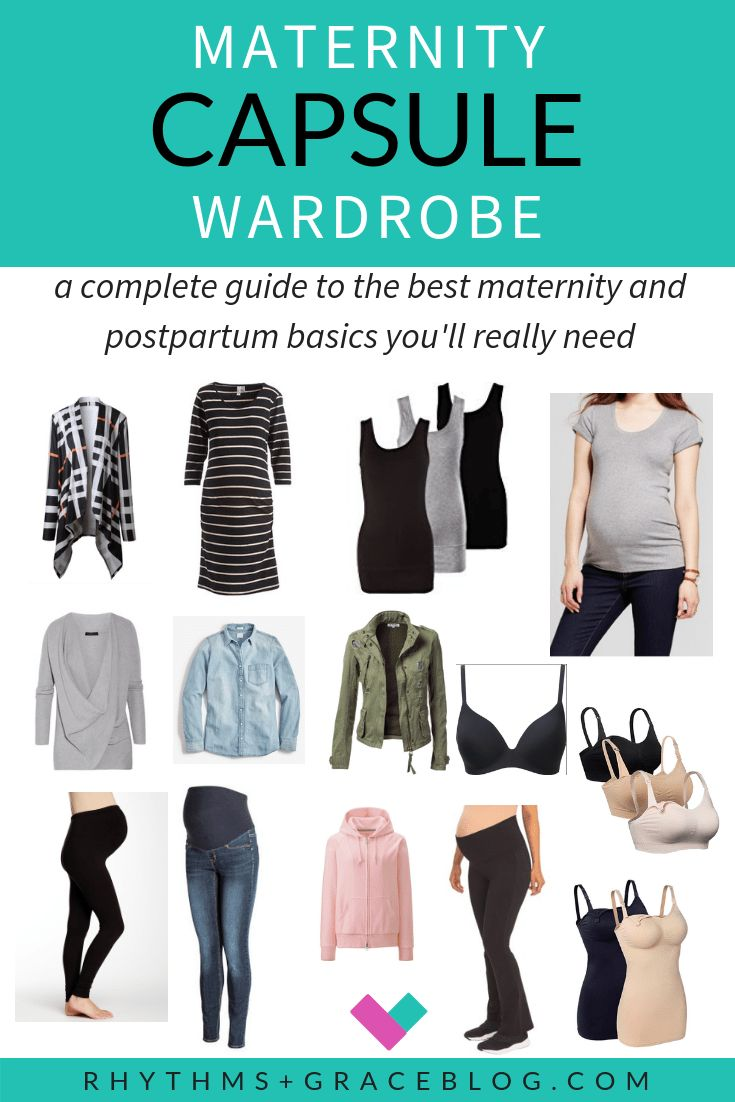 Want to create a minimalist maternity capsule wardrobe? Here is a list of afford… – Encouraging Resources for Moms & Christian Parenting