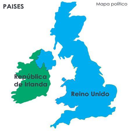 mapa politico republica irlanda reino unido diario londinense