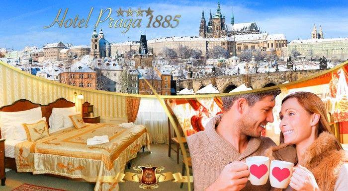 Pražské dobrodružstvá s ubytovaním v Hoteli Praga 1885**** na 1, 2 či 3 noci! V ponuke i varianty s plavbou po Vltave.