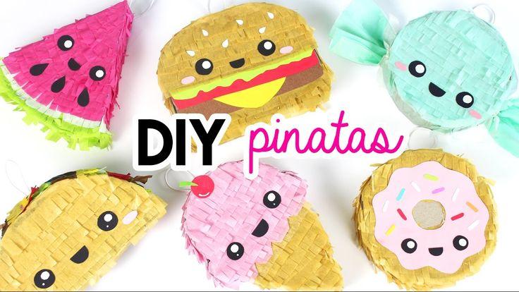 How to Make DIY Mini Pinatas!                                                                                                                                                                                  More