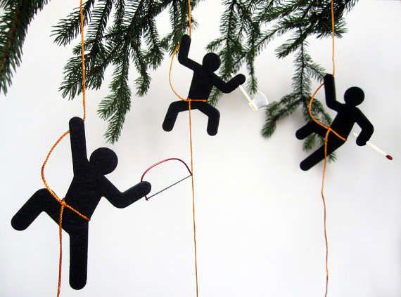 Undercover ninja decorations wall decor christmas for Adornos originales para navidad