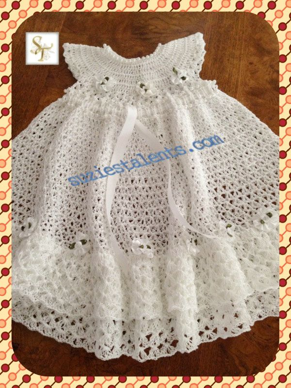 17 Best images about Crochet Baby Christening on Pinterest ...