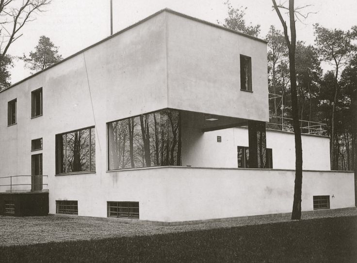 Bauhaus House | 1925-1926 | Dessau, Germany | Walter Gropius/Marcel Breuer (via Gau Paris)