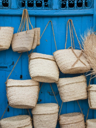 Baskets, Jerba Island, Tunisia.