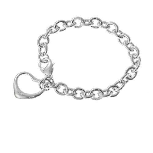 Mode Shmuck Frauens Weinlese Rome Hohl Liebe Herz Tropfen Armband Wristband 8.3…