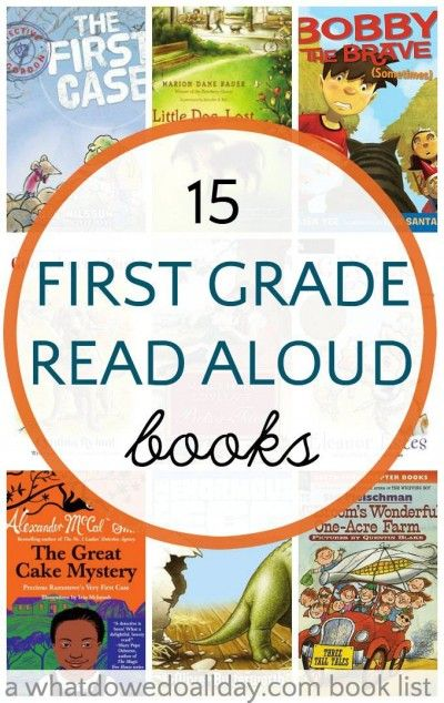 15 Engaging First Grade Read AloudsGrowing Book by Book