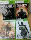 Call of Duty Game lot Xbox 360 -  Black ops 2&3 Modern Warfare 2&3