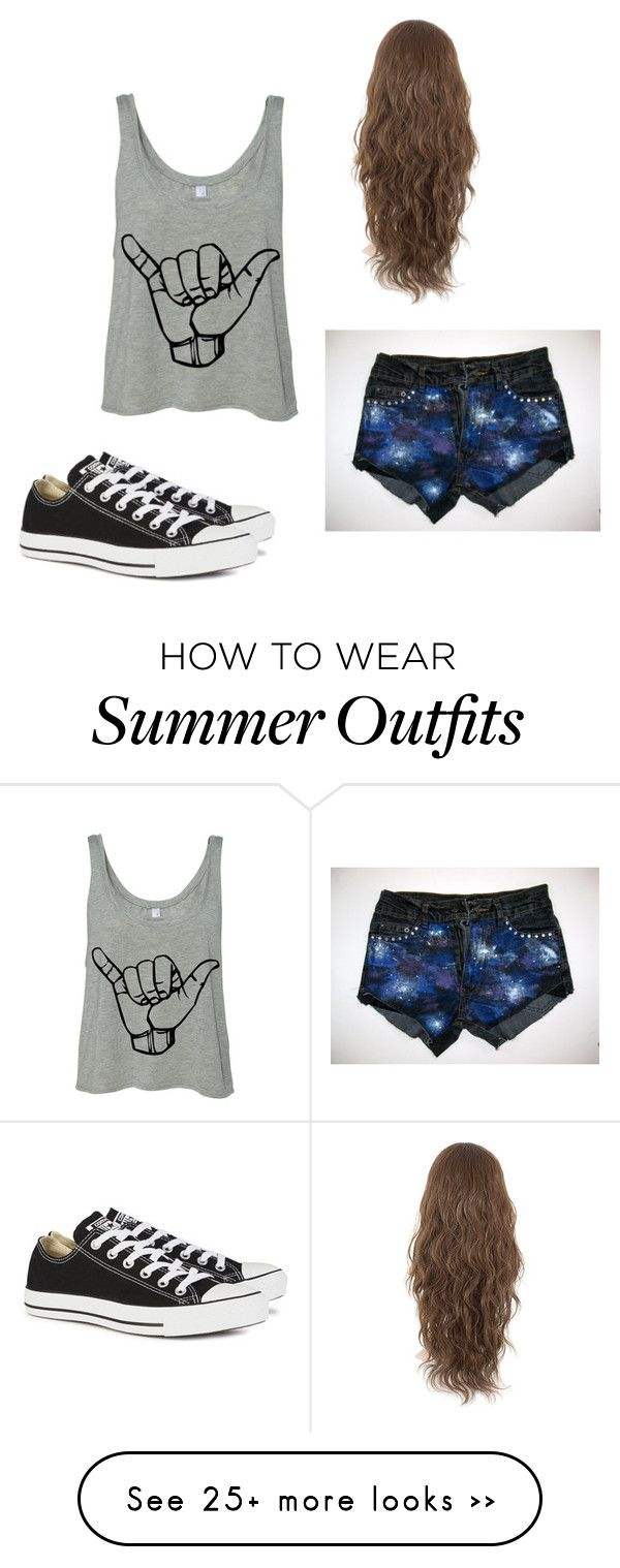 """Just lay back"" by empresshappywolf on Polyvore featuring Converse"