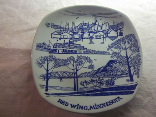 Red Wing Pottery Salesmen Plate Red Wing Minnesota. ON THE BACK SIDE IT SAYS MADE IN NORWAY FOR RED WING POTTERY SALESROOM RED WING, MINNESOTA. WITH THE NAME STAVANGERFLINT. | eBay