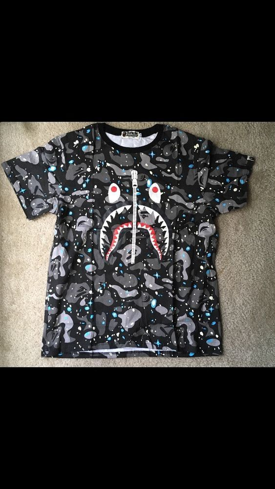 36d71403 Space T Shirts Ideas #spaceshirts #spacetshirts BAPE Glow In The Dark Space  Camo Shirt
