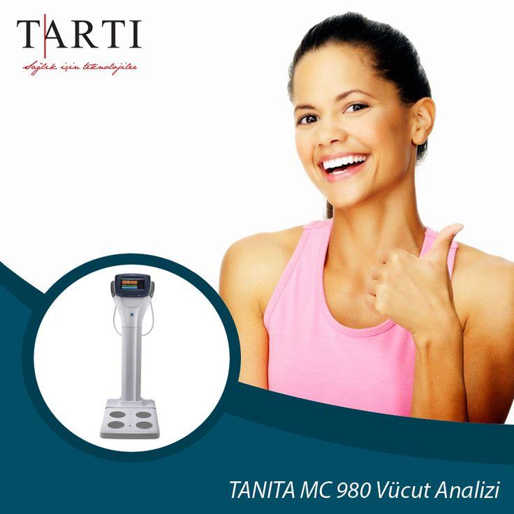 TANITA MC 980, 30 saniyenin altında kapsamlı vücut analizi yapabilme ve parmak uçlarınızla kontrol edebilme kolaylığında tasarlanmış kusursuz bir cihazdır.  #TartıMedikal #diyet #diyetisyen #TANITA #vücutanalizi #sağlık