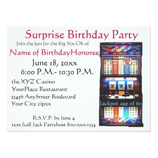 Black and White Party Invitations Summer 2018