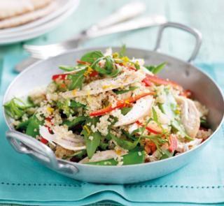 Chicken and orange-ginger quinoa salad   Australian Healthy Food Guide