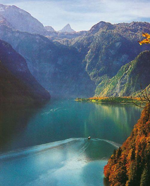 Fjordartiger Königssee