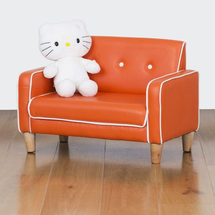 El Nino Kids Sofa - Vibrant Orange | $99.00