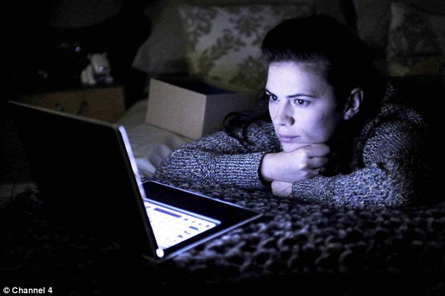 Hayley Atwell as Martha in Black Mirror: LivesOn is an eerie echo of the plot of the Channel 4 programme, in which a woman uses social media to keep in touch with her dead boyfriend
