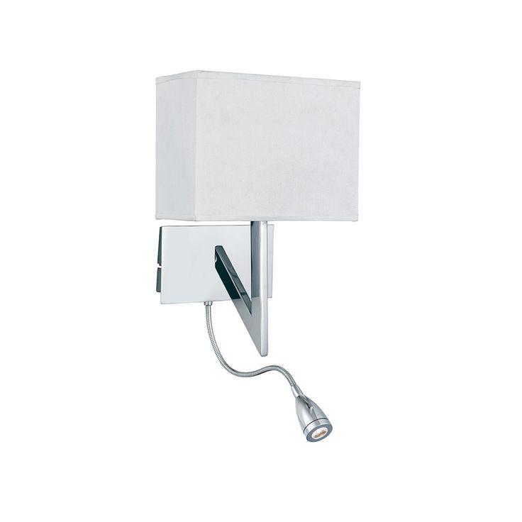 Searchlight 3299CC Wall 2 Light Chrome Switched Wall Bracket