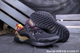 56fbcdd07 Mens Winter Jogging Shoes Adidas Alphabounce Beyond m 330 Black purple  yellow