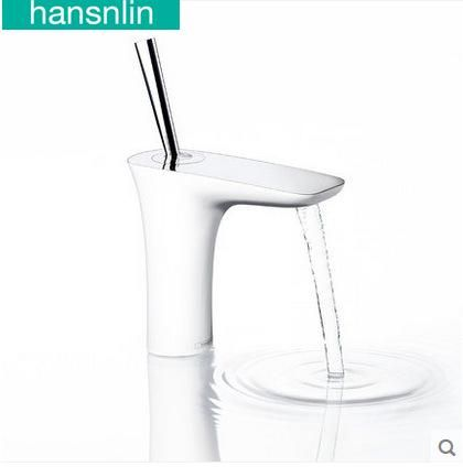 [Visit to Buy] Basin faucet Single Handle tap Deck Mounted Cold and Hot Water Mixer torneira bathroom faucet torneira do banheiro banheiro  #Advertisement