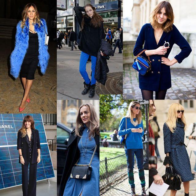 welovewomen: BLUE STREET STYLE LOOKS!!!