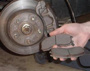 Are you brake pads due for replacing? Are you hearing a grinding noise coming from your brakes? Stop by for a free brake pad inspection. A brake pad is a steel backing plate with a friction material bound to the surface that faces the disk brake rotor. But generally most consist of either a mixture of metallic shavings or nonmetallic, organic materials. Most brake pads sold today are considered to be a ceramic, semi metallic, or organic type.