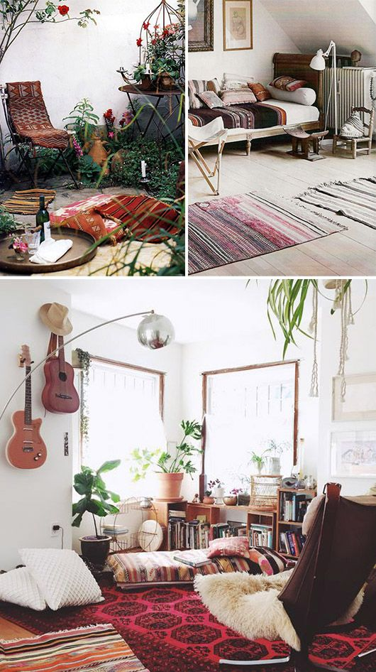 25 Bohemian Home Decor For More
