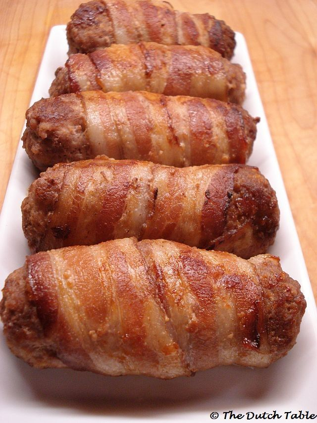 The Dutch Table: Slavinken (Dutch Bacon Meatrolls) looks like the dutch answer to the Fatty
