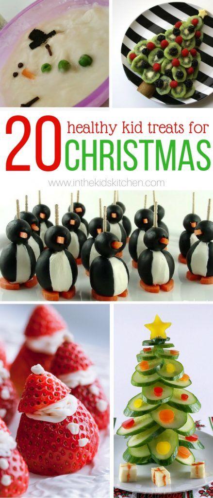 20 Healthy Christmas Kids Snacks