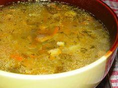 Рассольник с грибами — любимое первое блюдо нашей семьи. Мужу очень нравится его кисловатый вкус, а дети с удовольствием вылавливают жареные огурцы.   Рассольник с грибами — блюдо постное. С сего…
