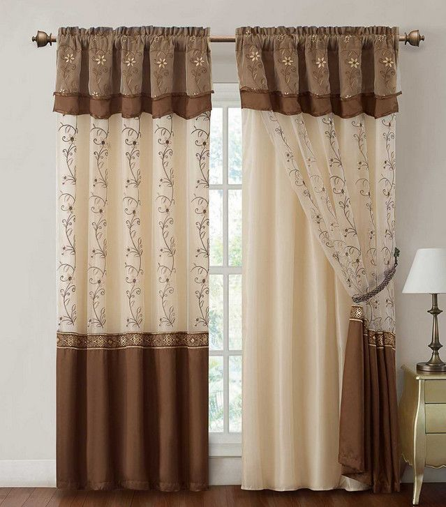 22 Best Embroidered Curtains Images On Pinterest Curtain