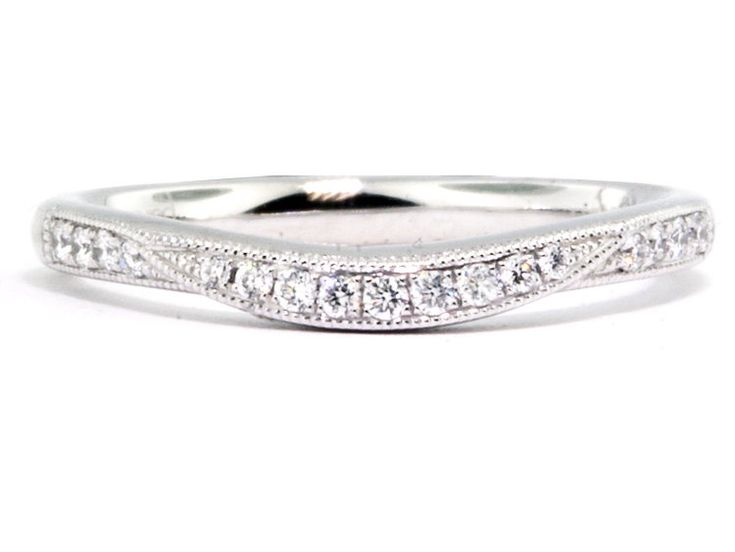 Best 25 curved wedding band ideas on pinterest wedding for Jewelry stores in eau claire wi