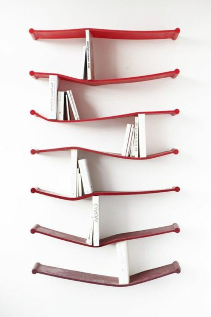 Glass Bookcase Cabinet Ikea ~ Oltre 1000 idee su Etagere Murale Design su Pinterest  Murale Design