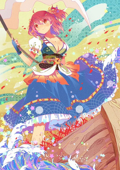 Good Anime Character Design : Best komachi onozuka touhou project 東方project
