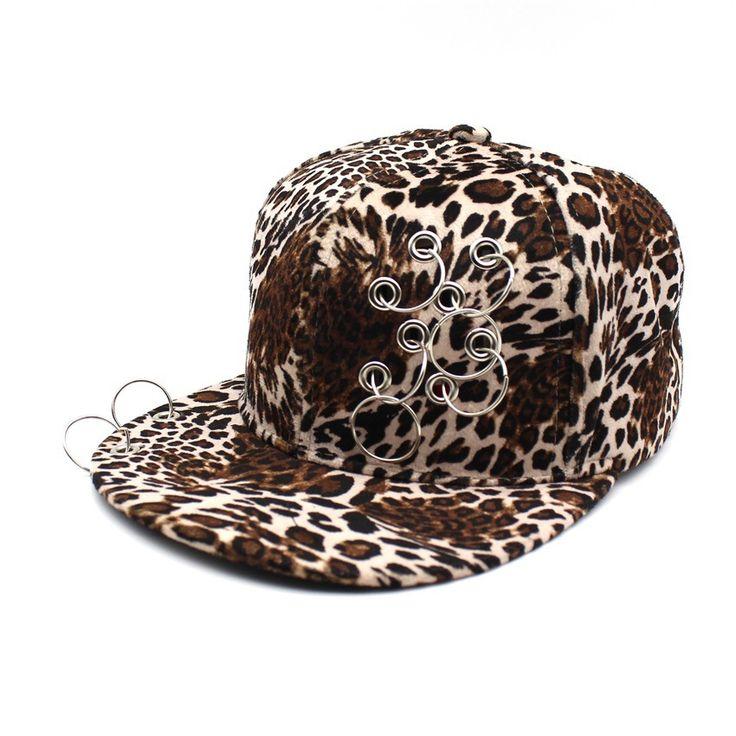 >> Click to Buy << 2017 Summer New Ring  casquette de Baseball Hat Girl Leopard Hip Hop Cap Snapback Sun Hats For Women Sports Outdoors Caps russia #Affiliate