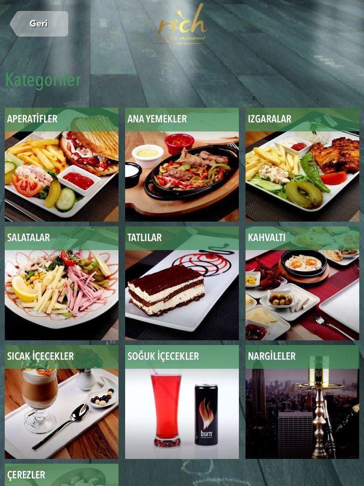 Dijital menü - resimli menü - yemek fotoğrafı  http://www.finedinemenu.com/