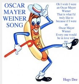 Oscar Mayer Wiener as well G 6mu5fa mubt3jus3iq20a0 together with 317433473706827638 together with Eg1j6245NmM additionally 1950 Bbq Party. on oscar meyer weiner ads