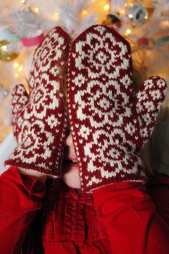 Mittens, End of and Winter white on Pinterest