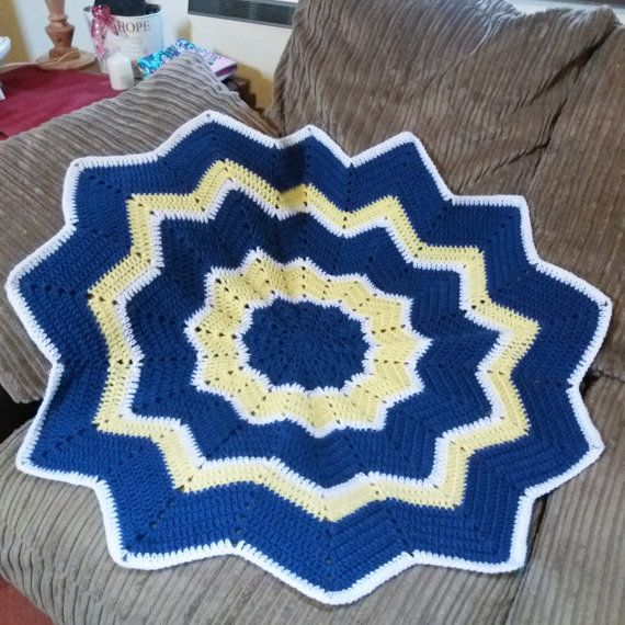 Crochet Baby Blanket Ideal for gifting. Baby by Libbycraftmakes