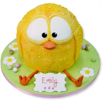 Cute Easter Chicken Cake
