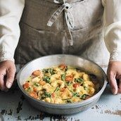 Simple Shrimp, Coconut and Eggplant Curry / Photo by Susan Bell