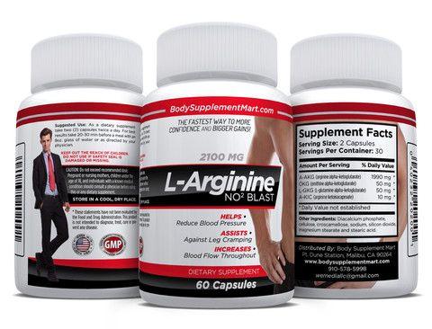 L-Arginine No2 Blast – Body Supplement Mart