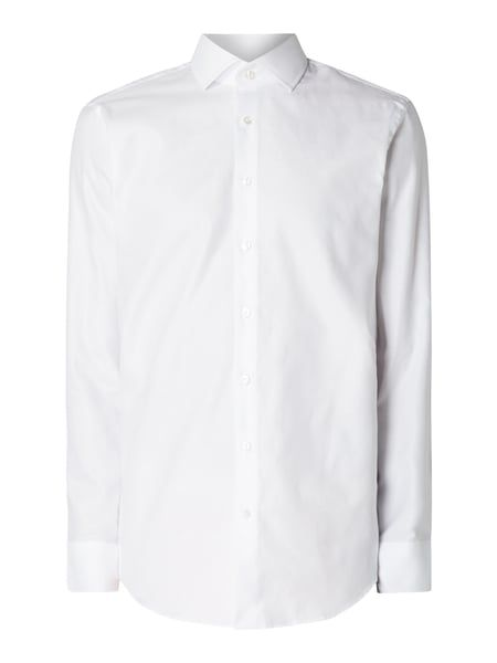 CHRISTIAN-BERG-MEN Modern Fit Business-Hemd mit