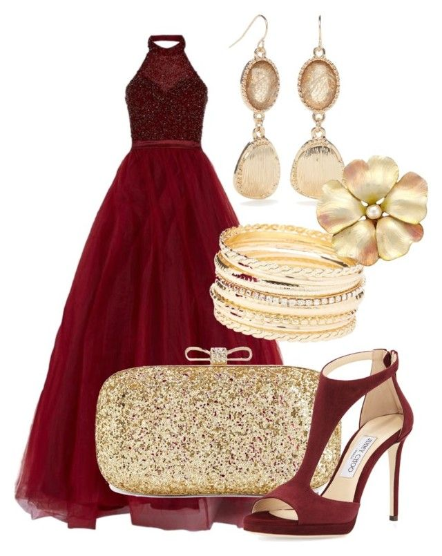 3 by ivette-morales-1 on Polyvore featuring moda, Jovani, Jimmy Choo, INC International Concepts, Ruby Rd. and Charlotte Russe