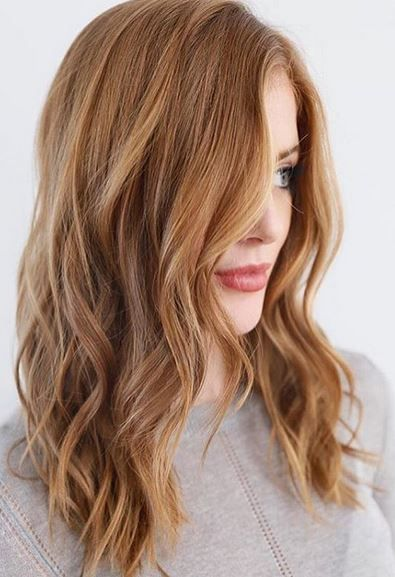hair color trends - strawberry blonde is the new blonde